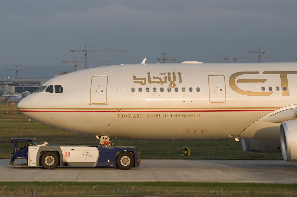 Etihad Airways - Airbus A330-243