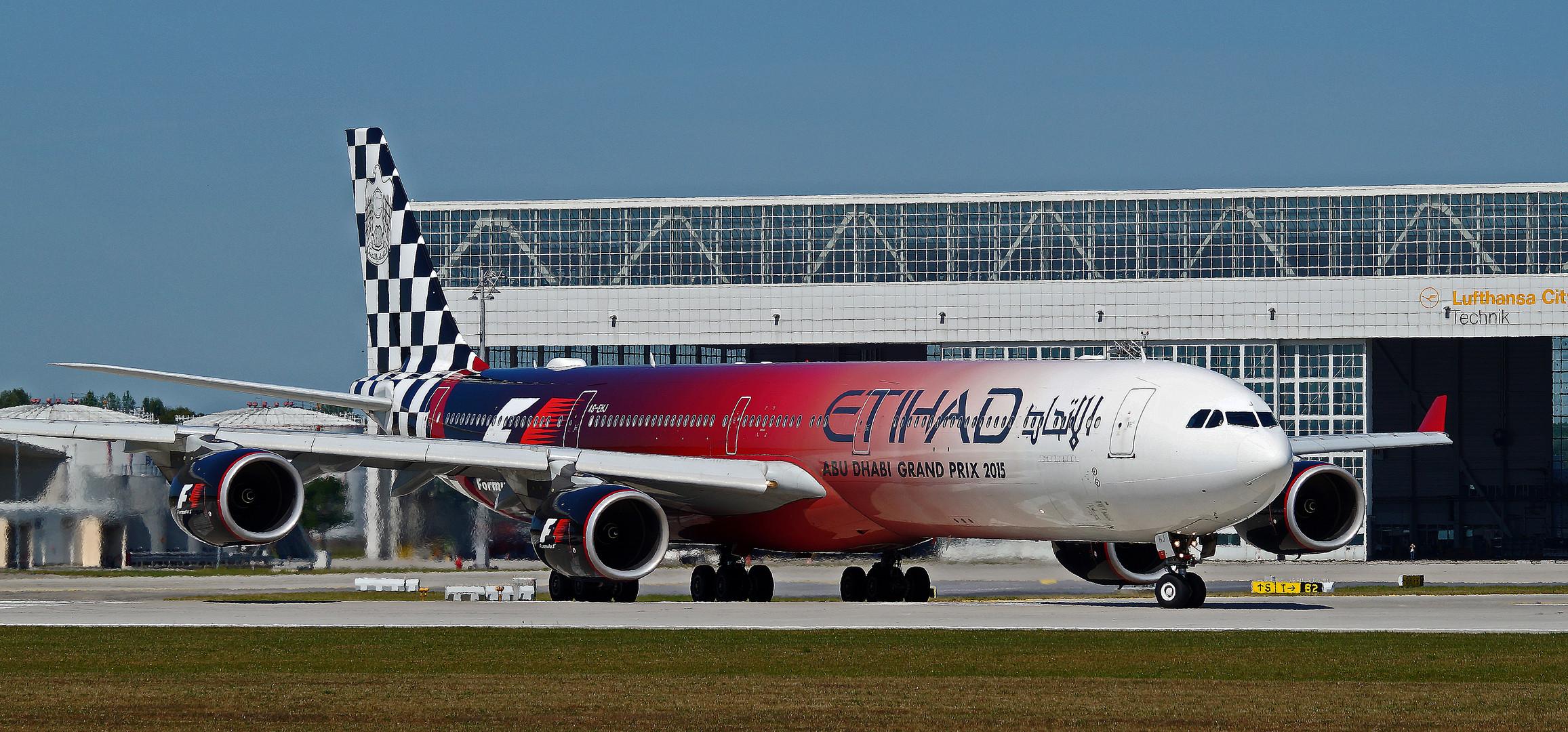 ETIHAD AIRWAYS / Formula One Livery