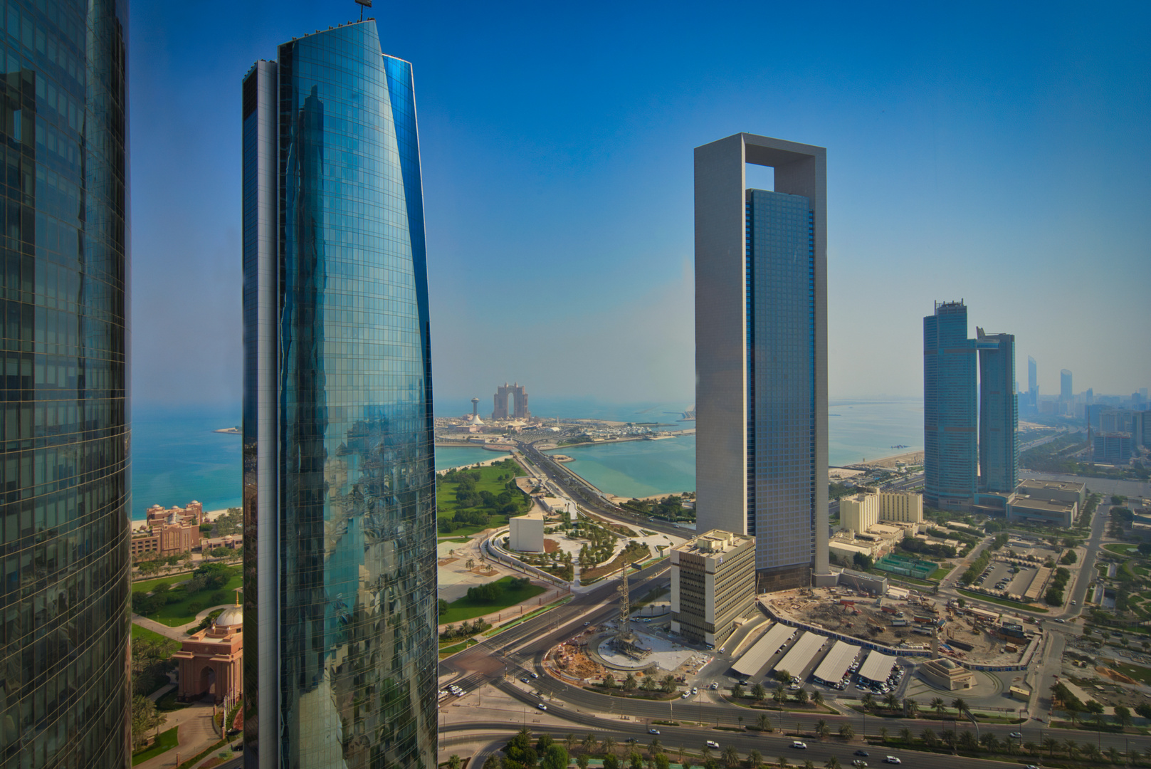 Etihad Towers View - Abu Dhabi