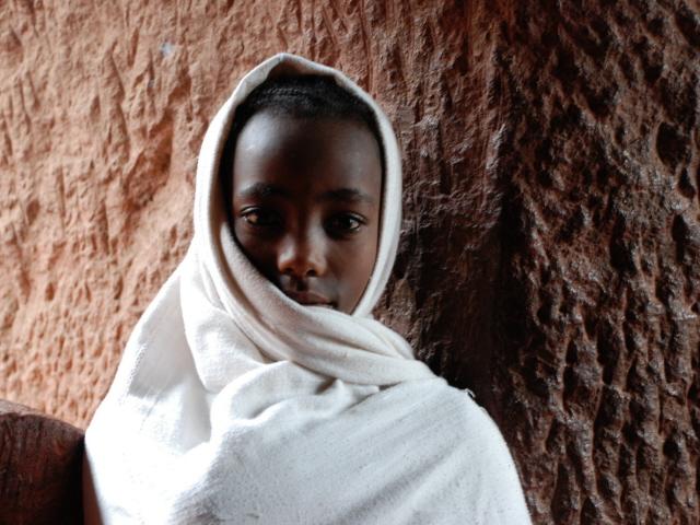 Etiopia, all'uscita dalla chiesa