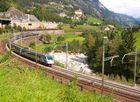 """ETR 470 """"Pendolino"""" à Wassen (Suisse)"""