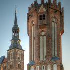 Eulenturm & St. Stephanskirche Tangermünde