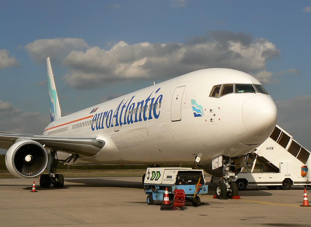 Euro Atlantic Airlines Boeing 767-3Y0(ER), CS-TFS