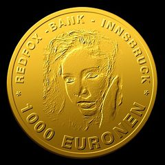 euro--Geldmünzen zur Wahl