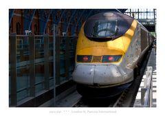 euro star - London St. Pancras - << HIGH SPEED RAILWAY >>