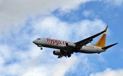 EuroAirport BSL - Pegasus kommt rein