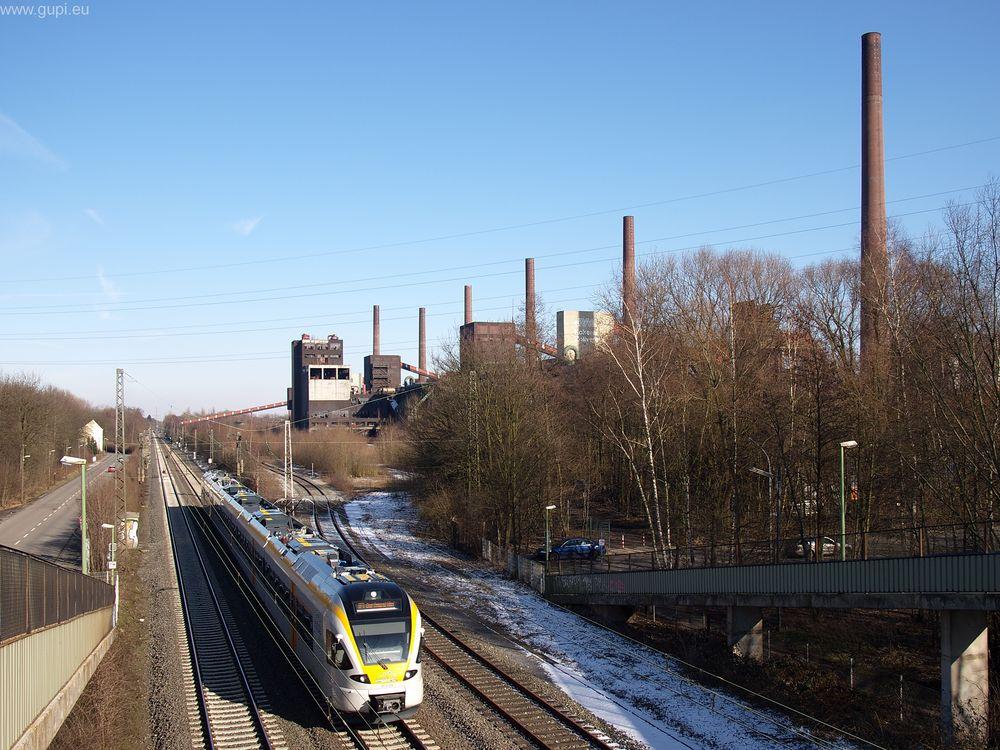 Eurobahn vor Zollverein