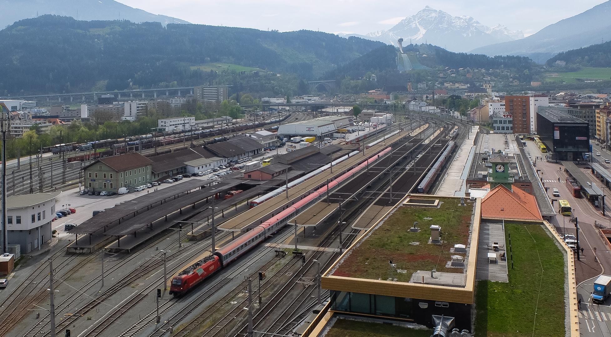Eurocity-Ausfahrt