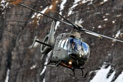 Eurocopter EC635 der Swiss Air Force