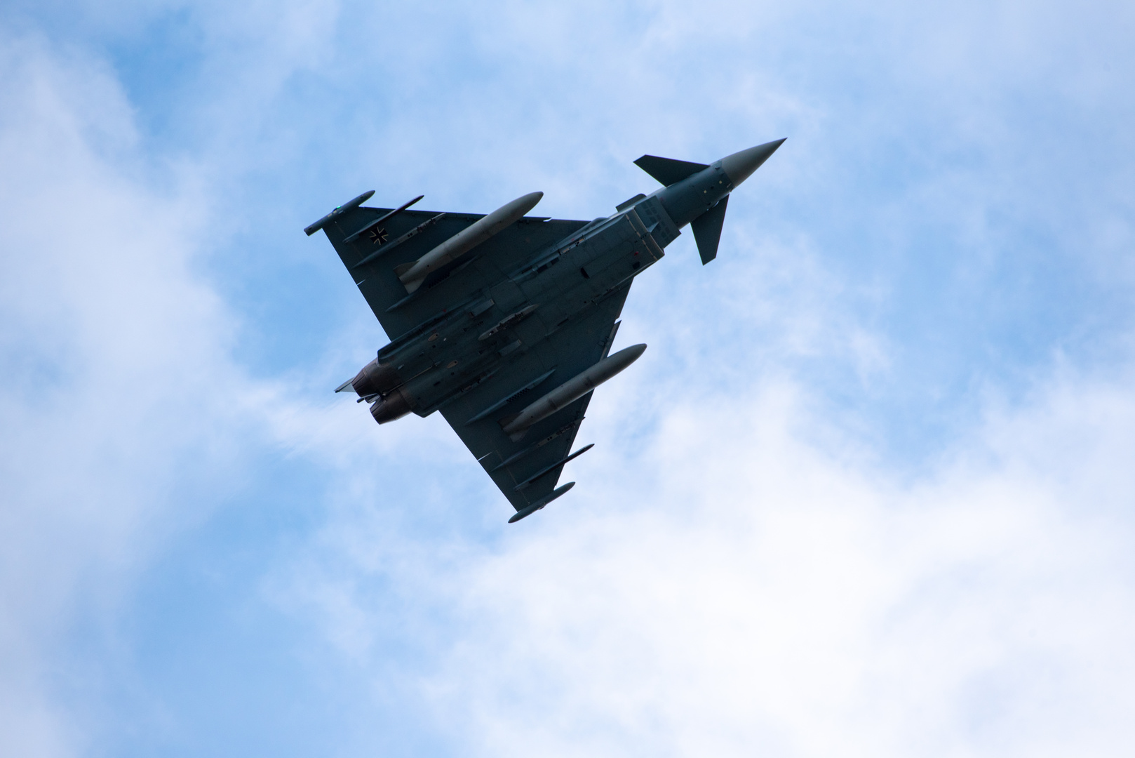 Eurofighter beim Überflug