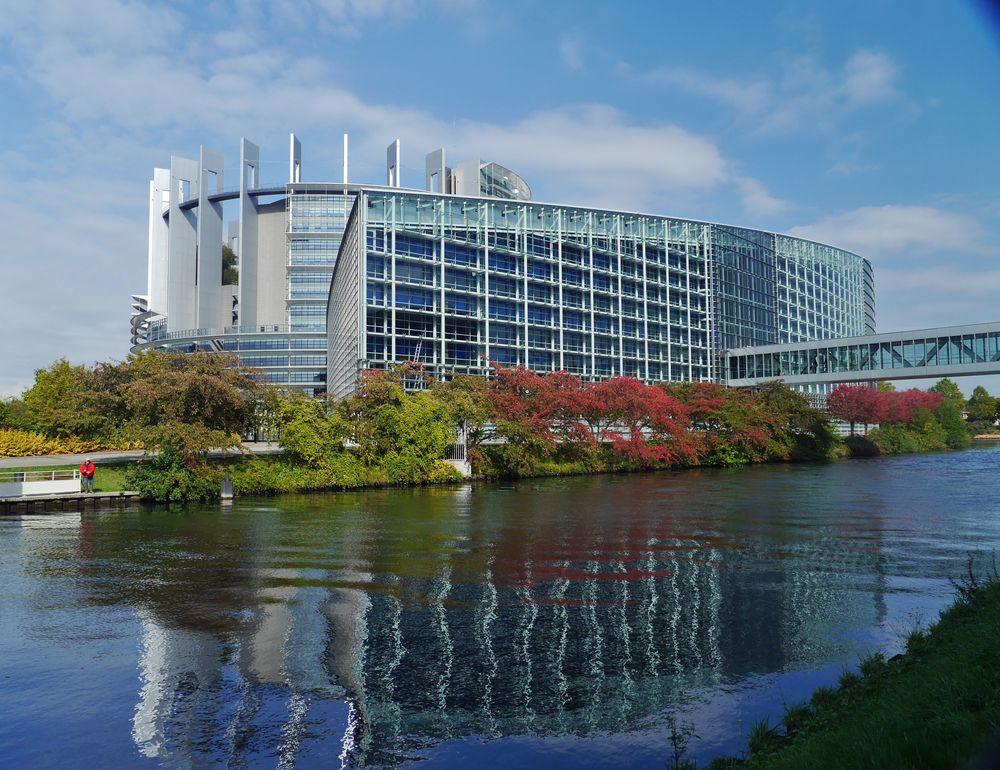 Europa Parlament Straßburg