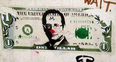 EUROPA WOHIN ? Hollande im Dollarmodus Grafitti