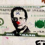 EUROPA WOHIN ? Hollande im Dollarmodus Grafitti Juli15