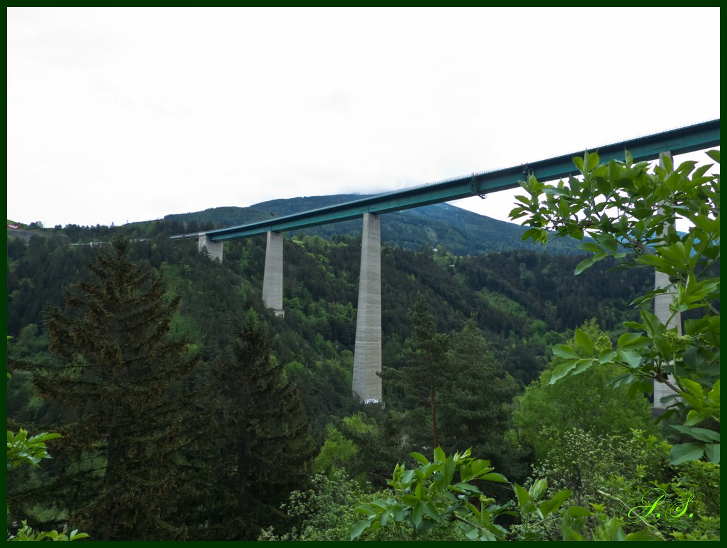 Europabrücke - Brennerautobahn