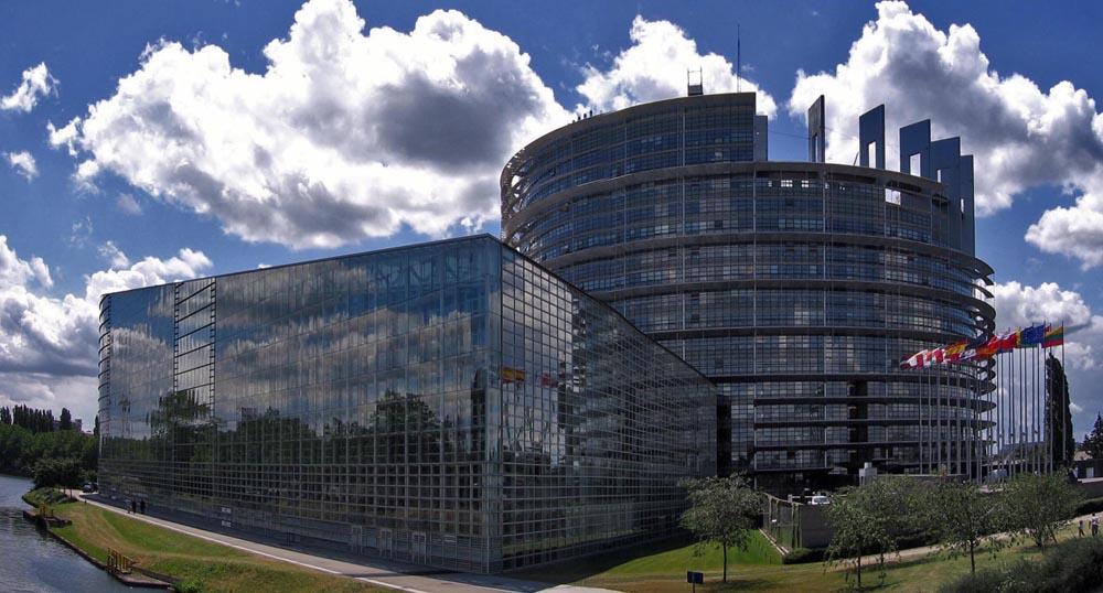 Europäisches Parlament in Strasbourg