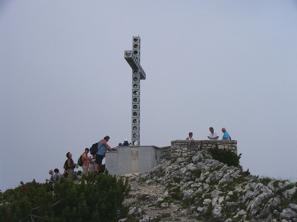 Europakreuz am Alberfeldkogel 1.708 m