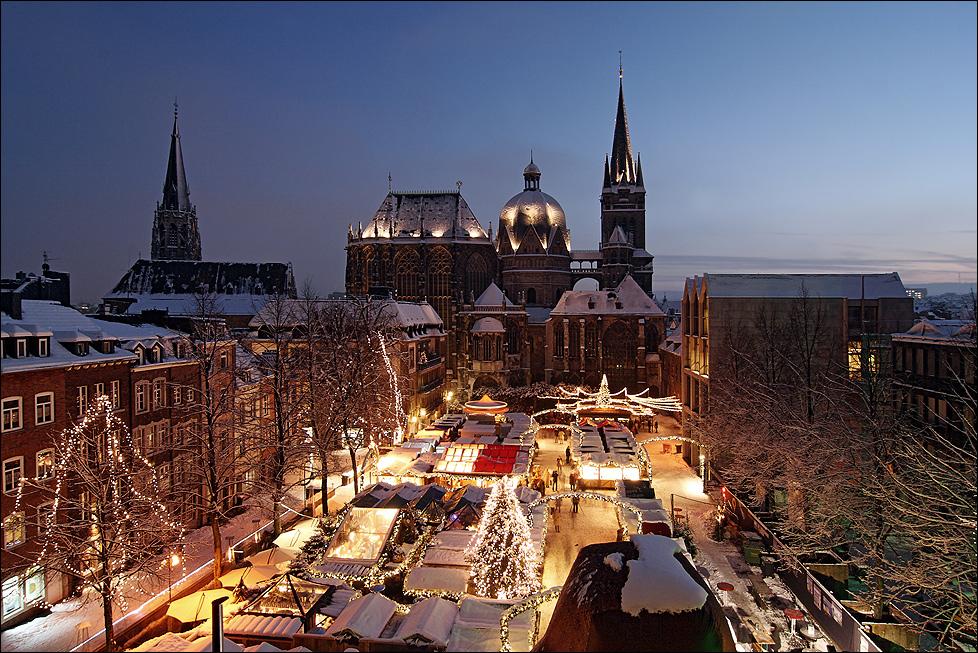 Europas schönster Weihnachtsmarkt . . .