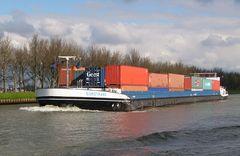 EUROTRANS auf dem Rhein unterwegs