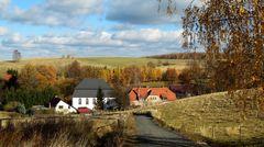 Ev. Kirche und Schule in Krommenau