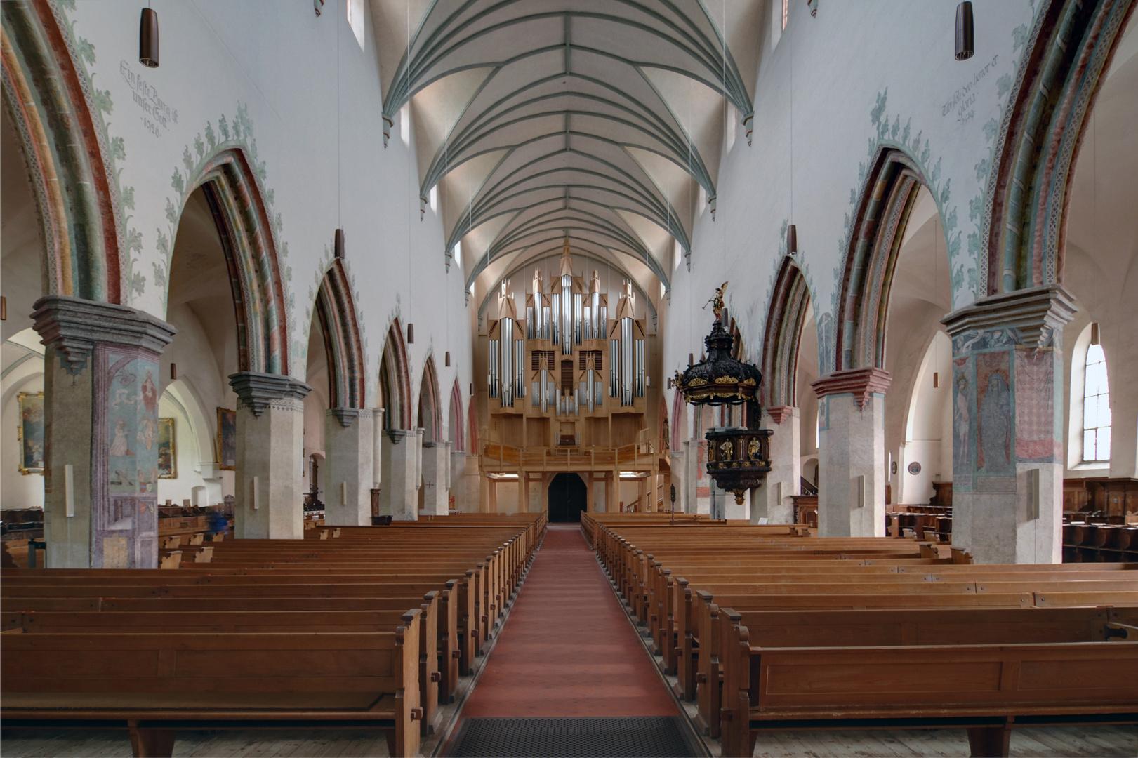 """Ev. Stadtpfarrkirche """" St. Martin"""",-Memmingen"""
