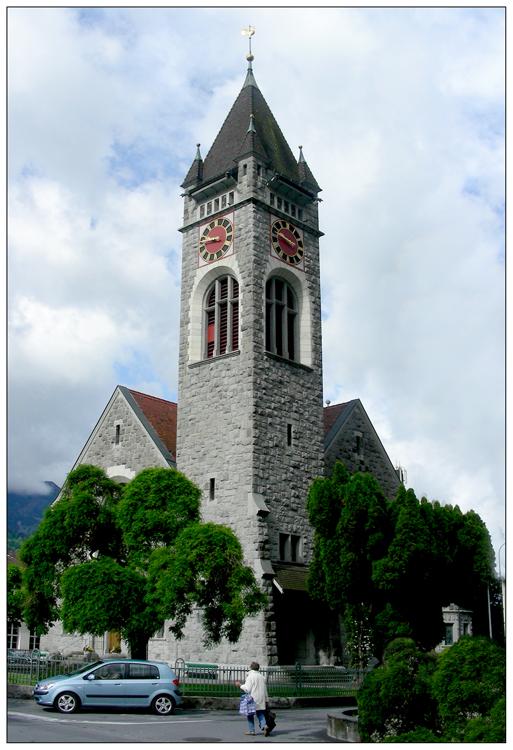 Evangelische Kirche in Walenstadt
