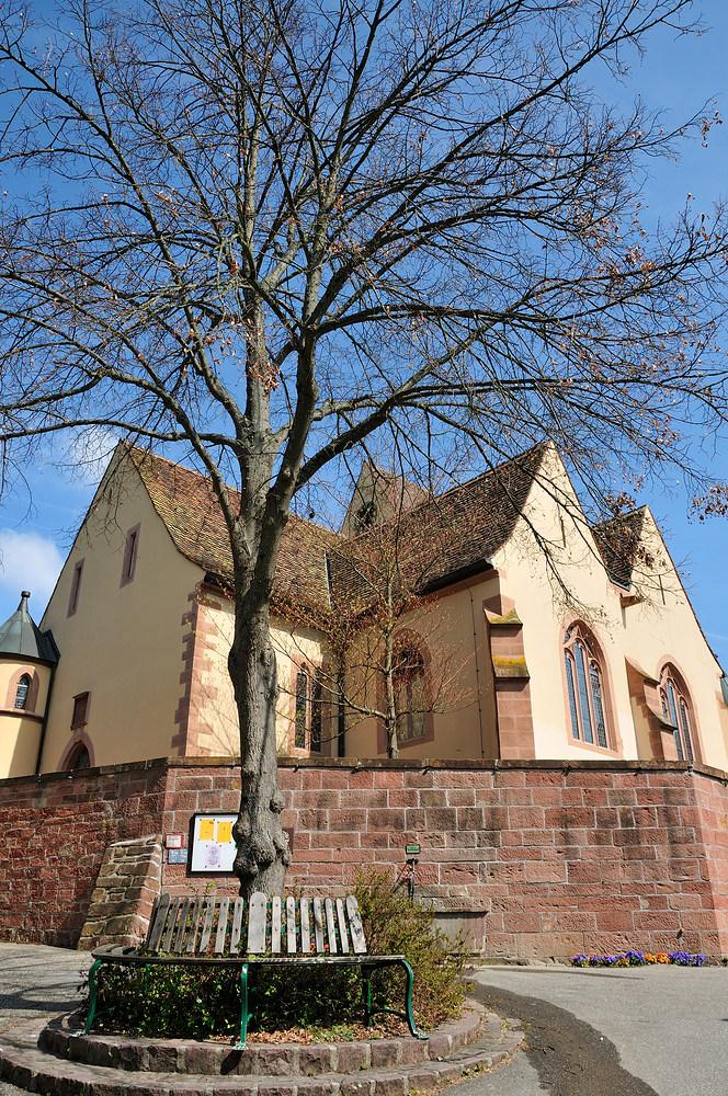 Evangelische Kirche v. Rötteln - OT von Lörrach - Nr.4