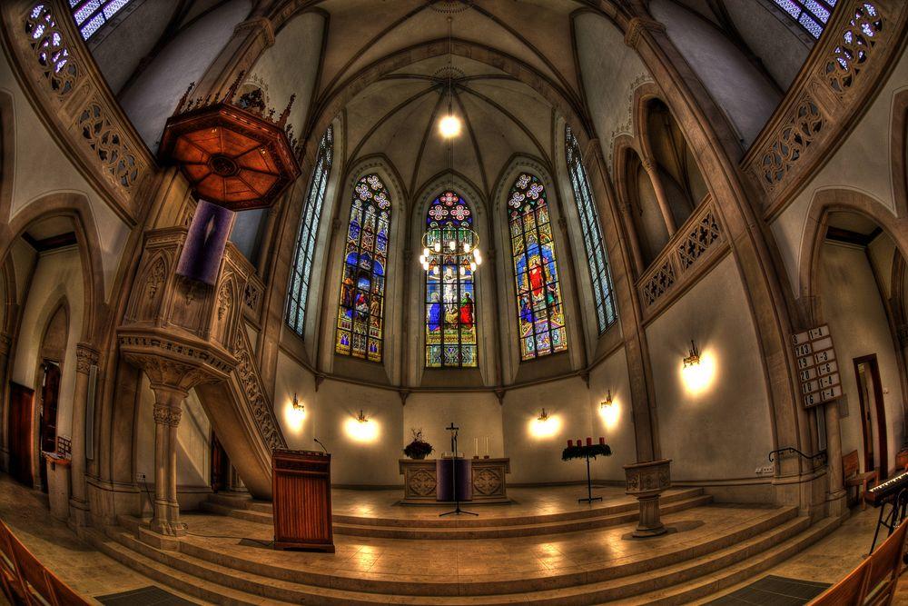 Evangelische Stadtkirche / Baden-Baden