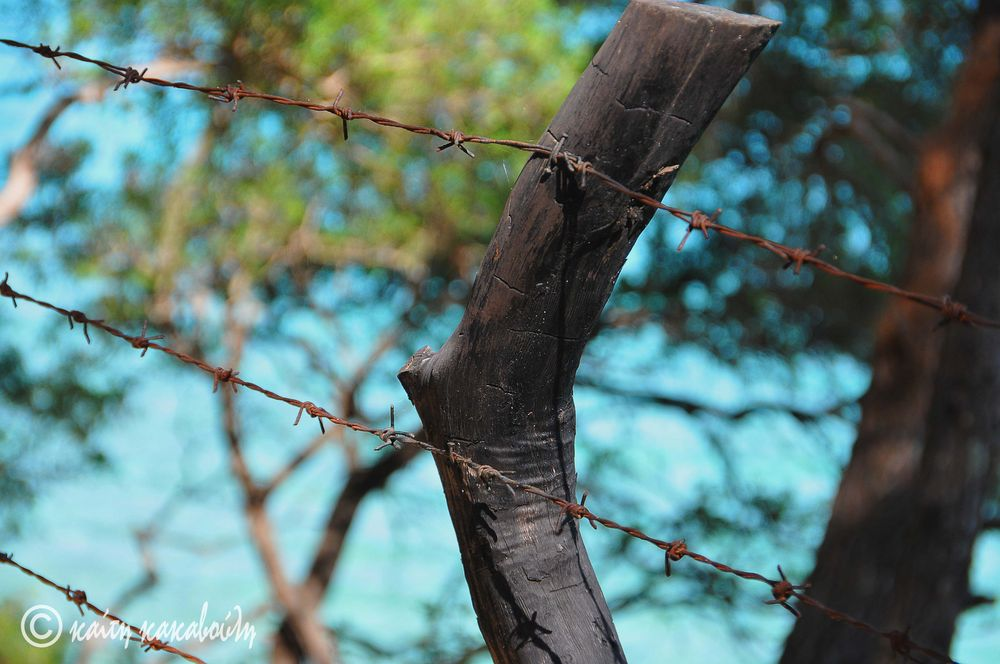 even fences are beautiful in Hellas