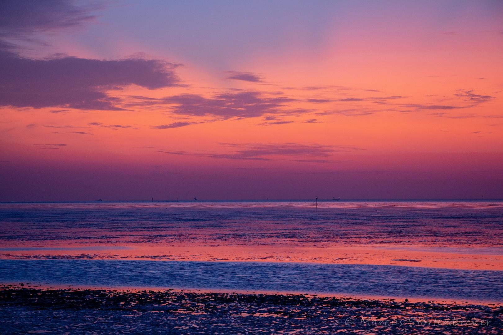 evening in pastel