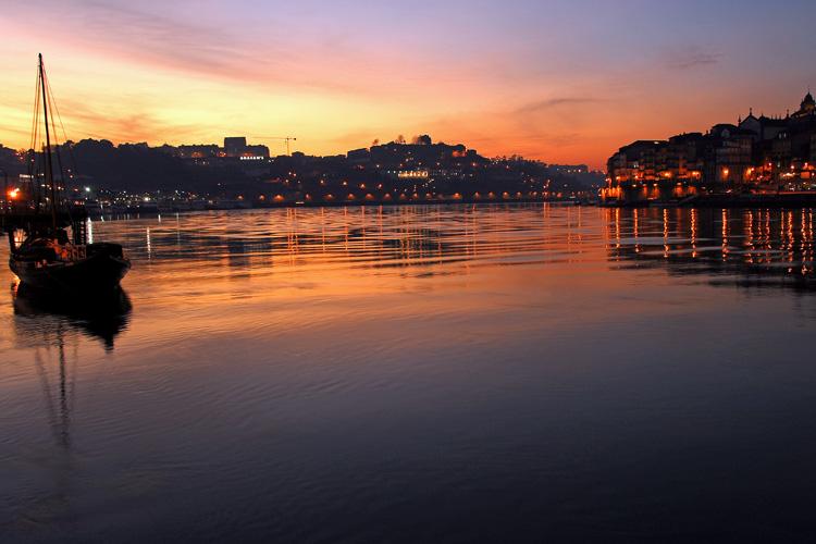 Evening in Porto