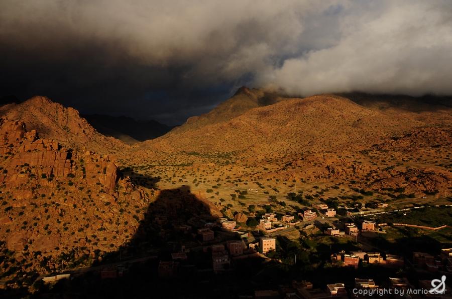 evening light in Marokko