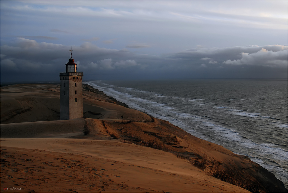 Evening mood at Rubjerg Knude Lighthouse