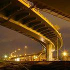 Evening overpass