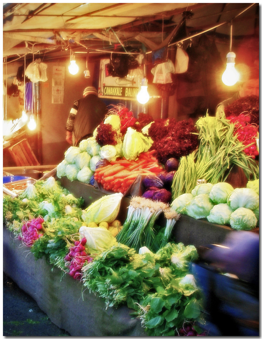 Evening stall