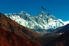 Everest und Lhotse