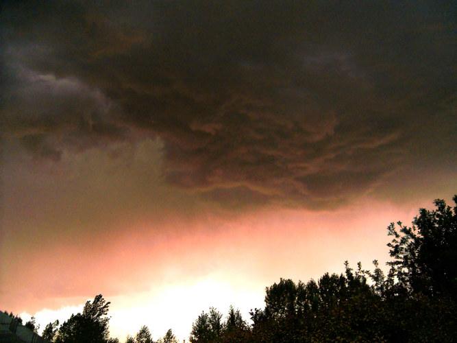 Evil Looking Clouds