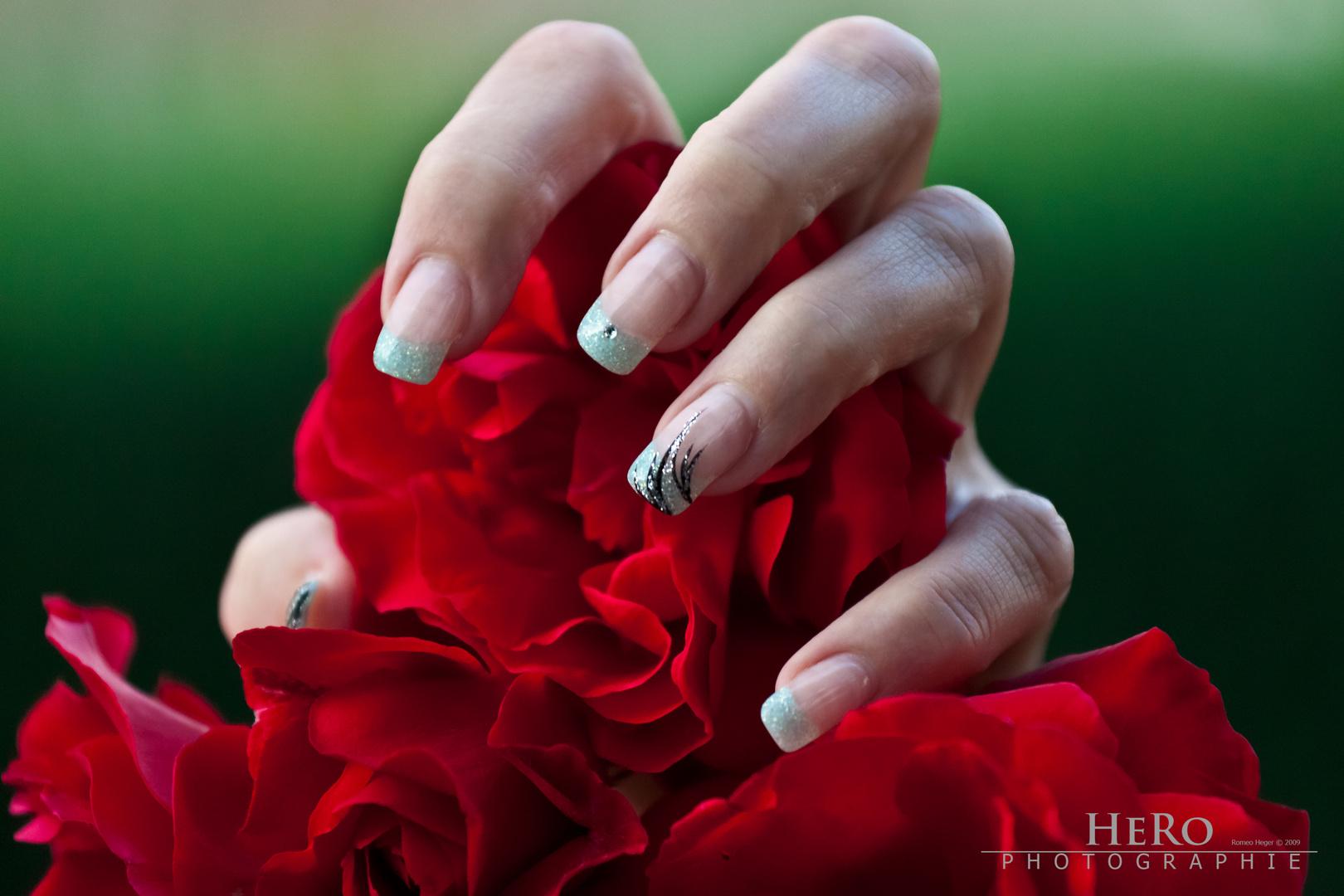 Evi's fingers