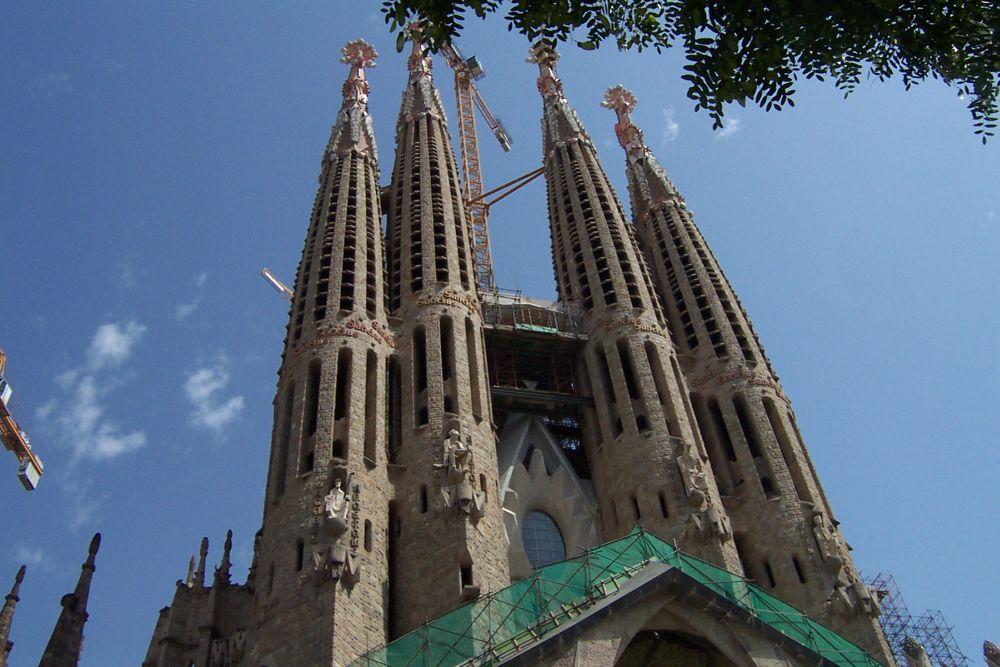 Ewige Baustelle - La Familia Sagrada, Barcelona