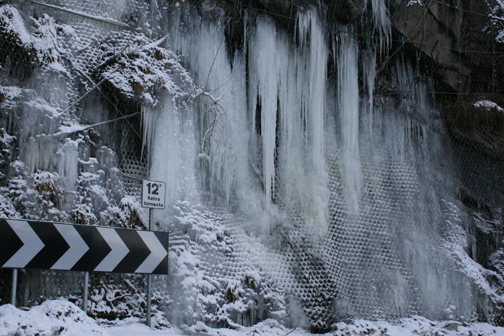 Ewiges Eis bei 12°