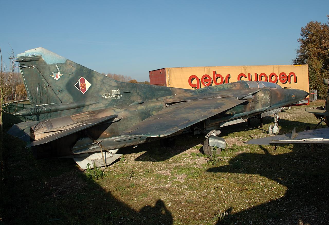 """Ex DDR-Luftwaffe MiG 23 """"23"""""""