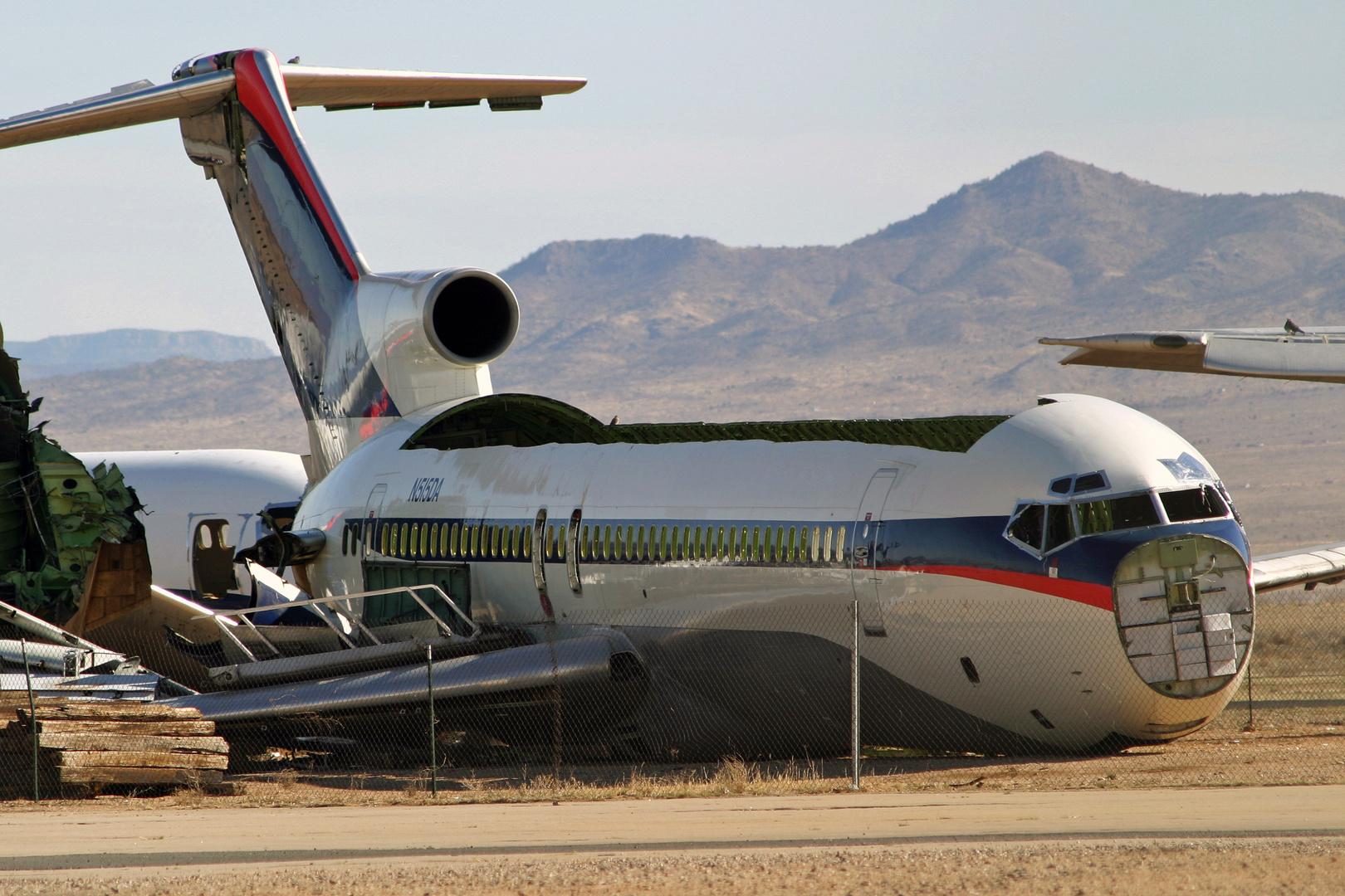 ex Delta Airlines Boeing 727 Kingman Arizona März 2004