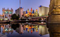 Excalibur Hotel, Las Vegas, USA