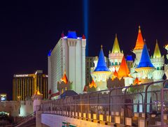 Excalibur und Mandalay Bay
