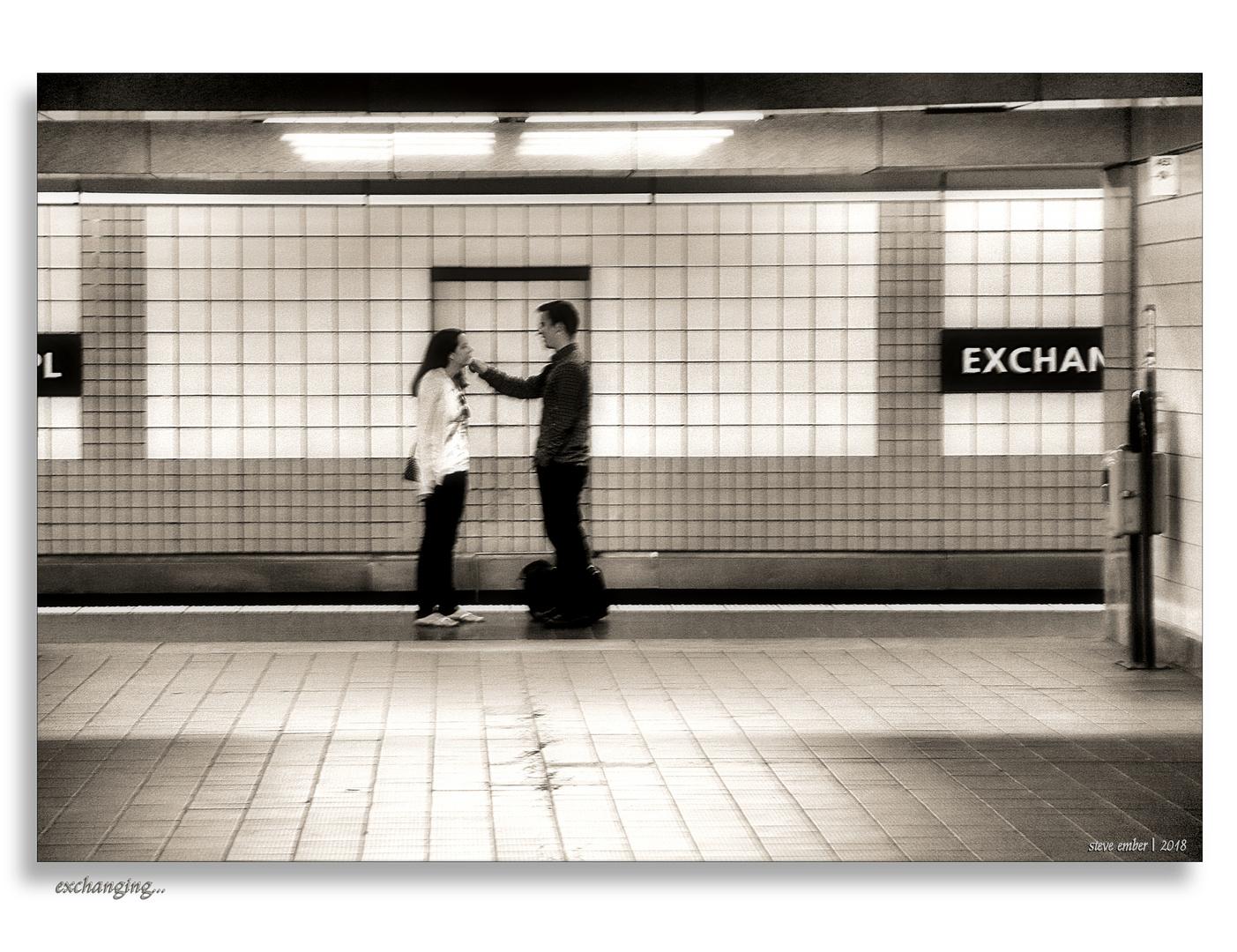 Exchanging...