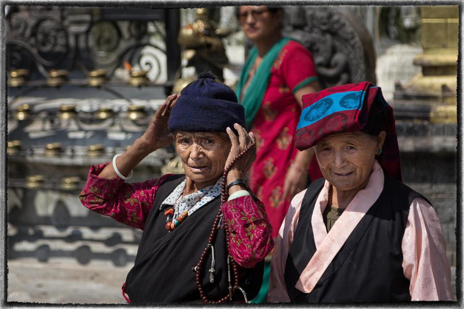 Exil-Tibeterinnen...