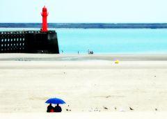 EXO 299 :Pluie d'été à la plage