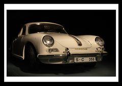 Experiment - Der Porsche 356 B aus dem Jahre 1961 ( Burago-Modellauto 1/18 )