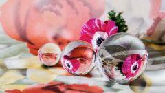 Experimente mit Glaskugeln