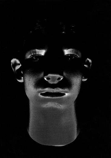 Experimentelles Portrait