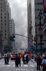 Explosion in New York City